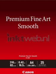 Canon Fine Art Smooth fotopapier A2 wit 1711C006