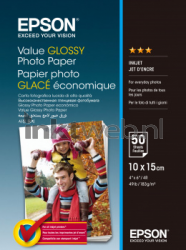 Epson Value Fotopapier 10x15 cm wit C13S400038