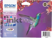 Epson T0807 multipack (Opruiming 6 x 1-pack)