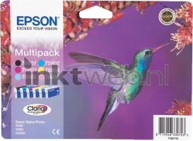 T0807 multipack (Opruiming 6 x 1-pack)