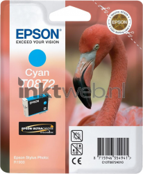 Epson T0872 cyaan C13T08724010