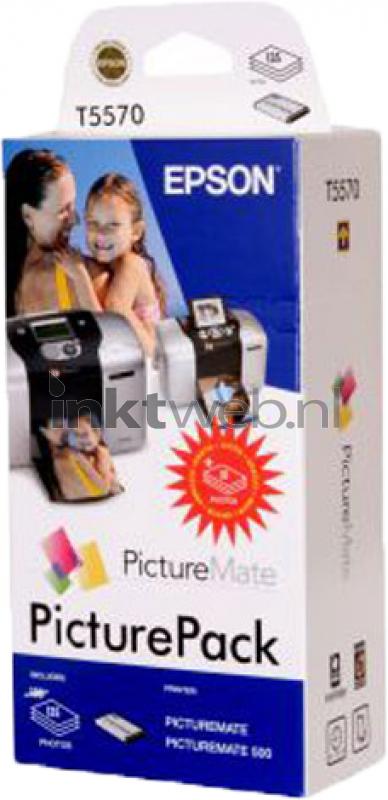 Epson T557 Picturepack Zwart En Kleur Origineel Inktwebnl