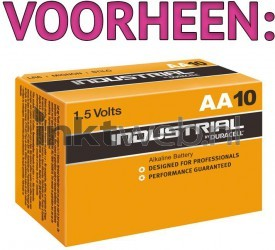 Duracell AA Industrial 10-pack LR6-AA