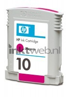 HP 10 magenta cartridge
