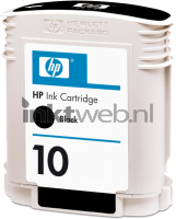 HP 10 zwart cartridge