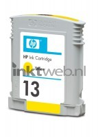 HP 10 geel cartridge