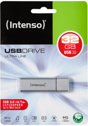 Intenso USB Drive 3.0 32 GB Zilver 3531480
