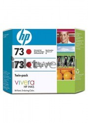 HP 73 duo-pack rood CD952A