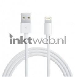 Red Point iPhone kabel, 1 meter wit 501910