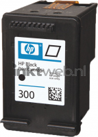 HP 300 zwart cartridge