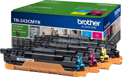 Brother TN-243CMYK zwart en kleur TN243CMYK