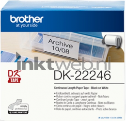 Brother DK-22246 wit