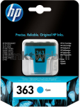 HP 363 cyaan Front box