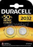 Duracell CR2032 2-pack