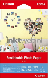 Canon RP-101 Restickable Photo Paper 10 x 15 cm 3635C002