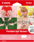 Canon NL-101 Nagelstickers wit