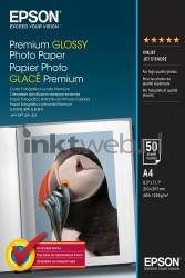 Epson Epson Glace Premium Glossy Photo Paper A4 C13S041624