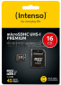 Intenso UHS-I micro SDHC kaart 16GB