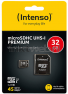 Intenso UHS-I micro SDHC kaart 32GB
