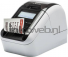 Brother QL-820NWB labelprinter grijs