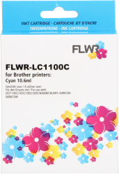 FLWR Brother LC-1100C cyaan FLWR-LC1100C