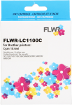 FLWR Brother LC-1100C cyaan