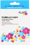 FLWR Brother LC-980Y geel