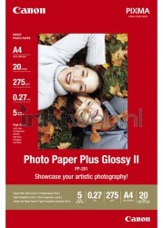 Canon PP-201 A4 Glossy Fotopapier wit 2311B019