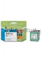 HP 351XL ink cartridge tri-colour