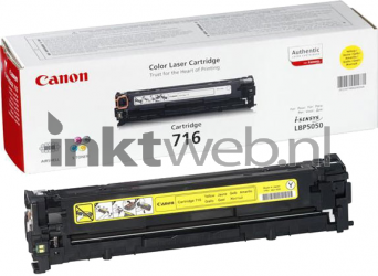 Canon 716 geel