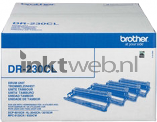 Brother DR-230CL Drum zwart en kleur DR230CL