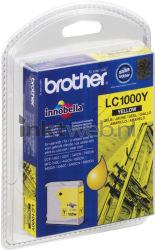 Brother LC-1000Y geel LC1000Y
