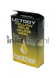 Brother LC-700 geel LC700Y