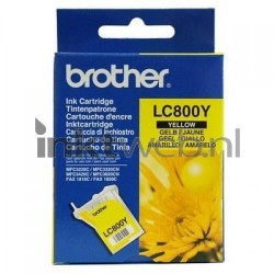 Brother LC-800Y geel LC800Y