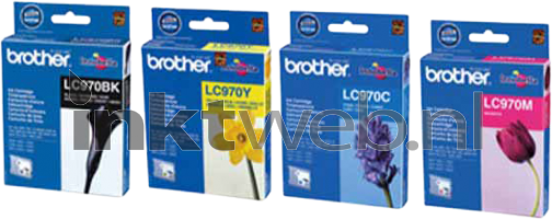 LC-970 multipack (Opruiming 4 x 1-pack outlet)