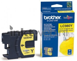 Brother LC-980Y geel LC980Y