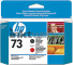 HP 73 Mat Black - Chromatic Red Printkop