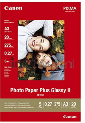 Canon A3, Photo Paper Plus Glossy II wit 2311B020