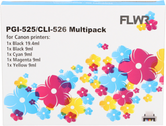 CLI-526 Multipack (FLWR-CLI-526MP)