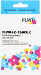 FLWR Brother LC-1240XL cyaan