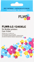 FLWR Brother LC-1240XL cyaan RE-LC-1240XLC