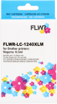 FLWR Brother LC-1240XL magenta