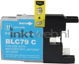 Huismerk Brother LC-1280XL cyaan RE-LC-1280XLC