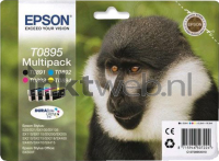 Epson T0895 Multipack (Opruiming 4 x 1-pack los)