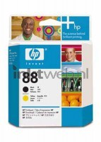 HP 88 Black-Yellow Printkop