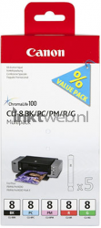 Canon CLI-8 Photo Multipack zwart 0620B027
