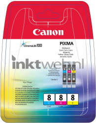Canon CLI-8 Color pack kleur 0621B029