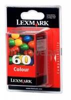 Lexmark 60 kleuren cartridge