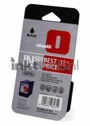 Olivetti IN501 (B0508) inktcartridge zwart B0508