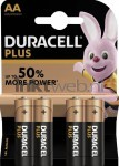 Duracell AA Plus Power 4-pack